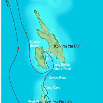 phi phi islands maps cheap tour