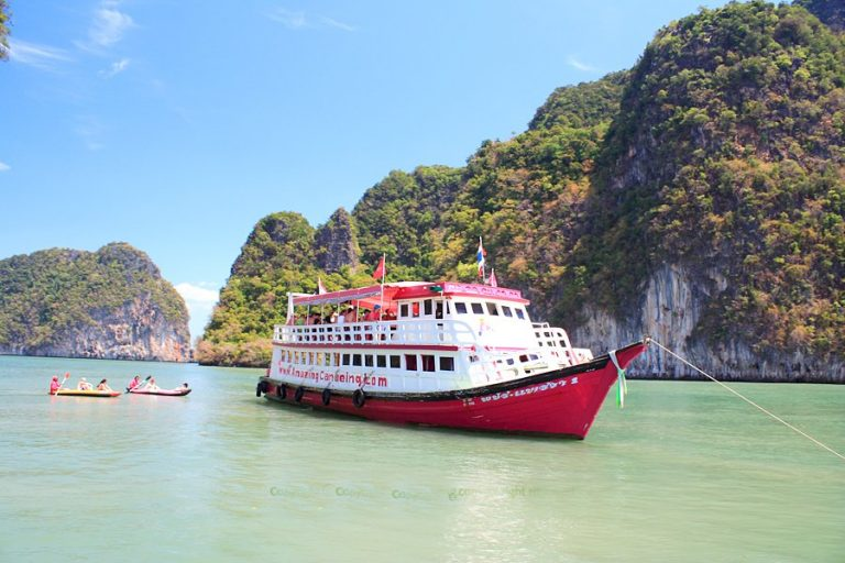 james bond island big boat