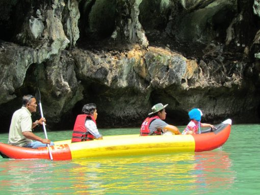 james bond island sea canoe