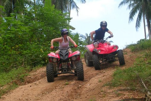 elephant trekking phuket enjoy atv