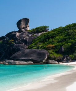 similan islands 2 days 1 night tent beautiful point sail rock
